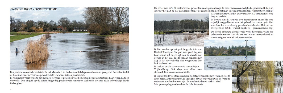 Markdal Stories PDF in dubbele pagina (spread) layout